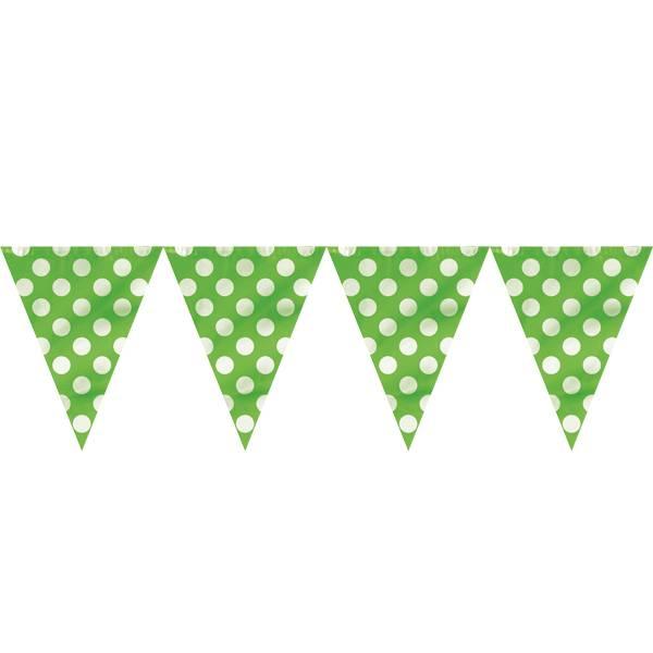 Banner grønn