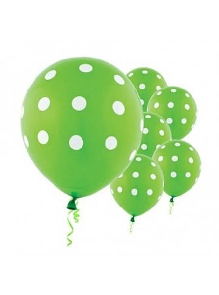 Ballonger 6-pk grønn