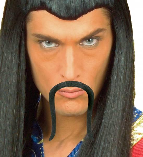 Chinese Moustache/Bart, sort