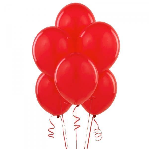 Ballonger 50-pk røde