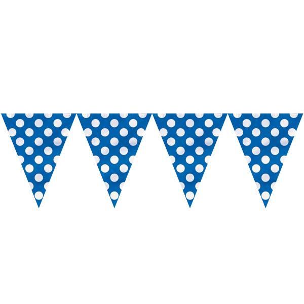 Banner blå