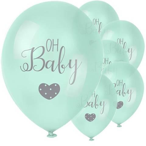 Bilde av Mintballong Baby Wishes 'Oh Baby' 28cm 6stk