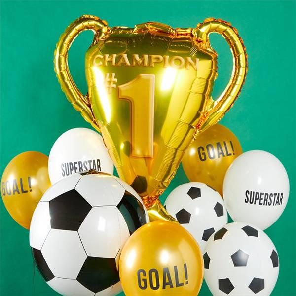 Ballonger Mix Party Champions Latex 30cm 12stk