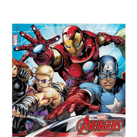 Bilde av Mighty Avengers Servietter 33cm 20stk
