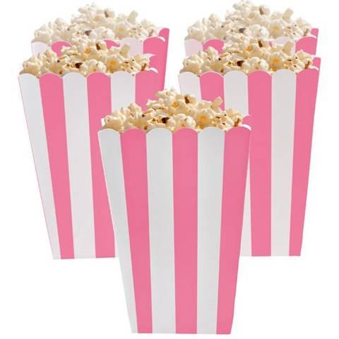 Bilde av Popcornbeger Rosa 13cm 5stk