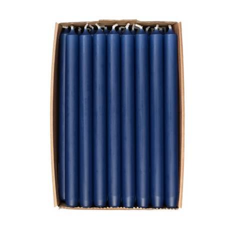 Bilde av Kronelys Mørkeblå 28cm 1stk