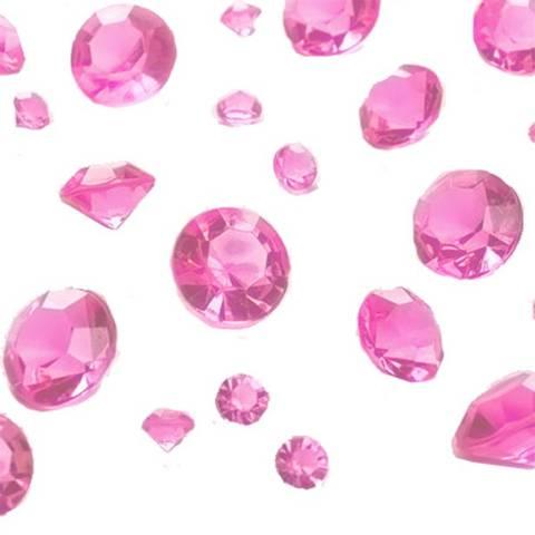 Bilde av Konfetti Rosa Perler Diamanter Assorterte