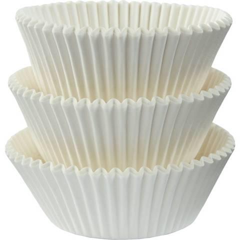 Bilde av Muffinsformer Hvite 75stk
