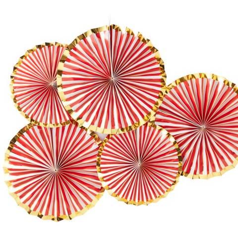 Bilde av Merry & Bright Dekorasjons Vifter 5stk