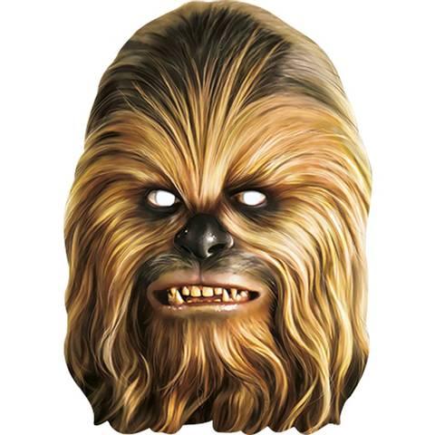 Bilde av Star Wars Chewbacca Maske 1stk