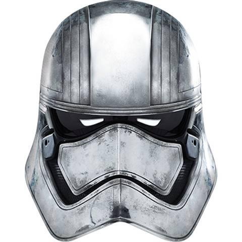 Bilde av Star Wars Kaptain Phasma Maske 1stk