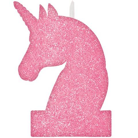 Bilde av  Kakelys Glitter Unicorn