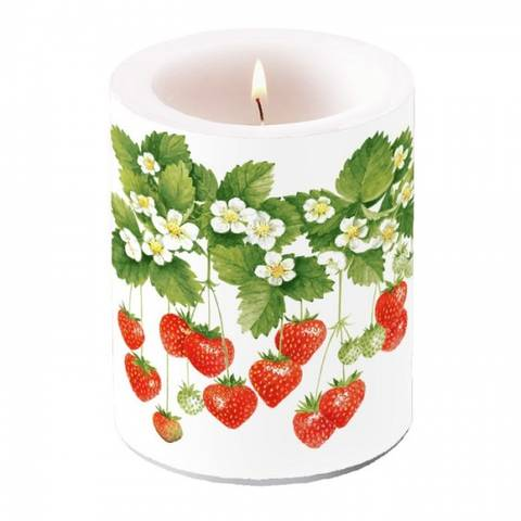 Bilde av Vakkert Kubbelys Jordbær 12cm