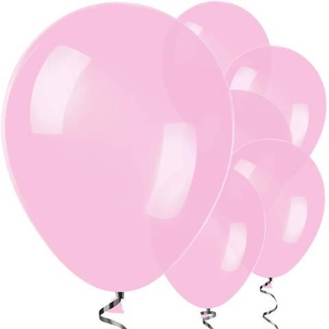 Bilde av Ballonger Rosa Lateks 30cm 25stk