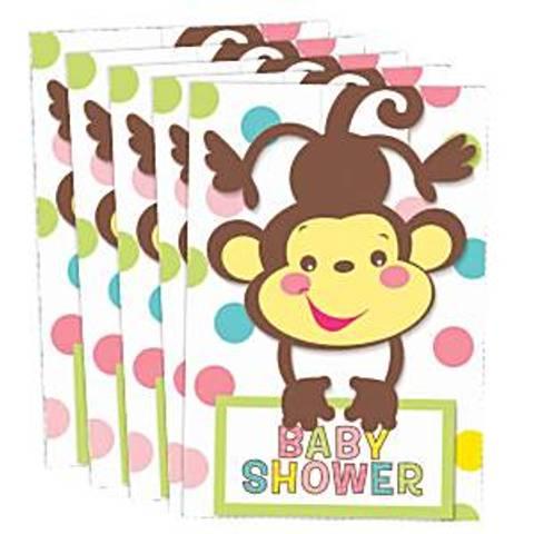 Bilde av Baby Shower Gutt&Jente Invitasjonskort 8stk