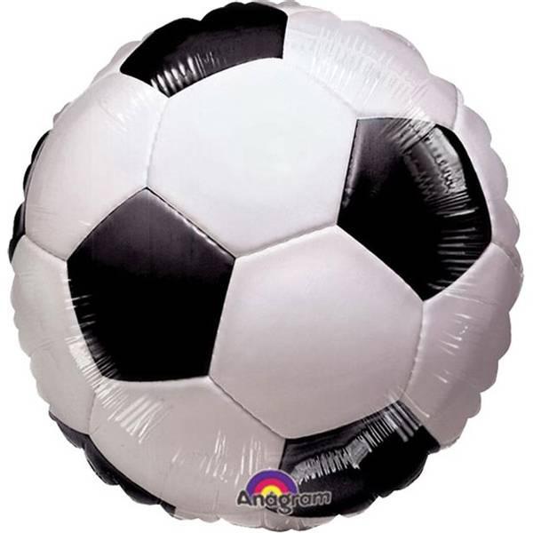 Ballong Fotball Folie 43 cm 1stk