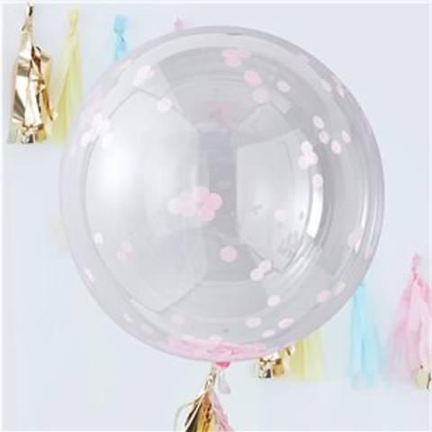 Bilde av Konfetti Store Ballonger Pick & Mix Pastel Rosa  90cm Orb 3stk