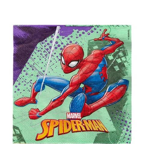 Bilde av Spiderman Team Up Lunsjservietter 33cm 20stk