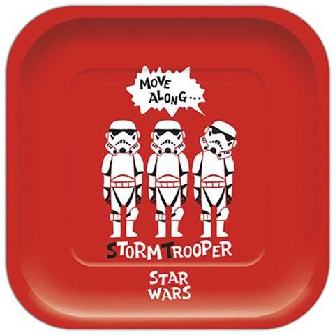 Bilde av Star Wars Square Papptallerkner 4stk