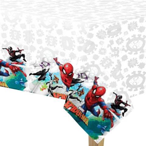 Bilde av Spiderman Team Up Plastduk 1.2m x 1.8m