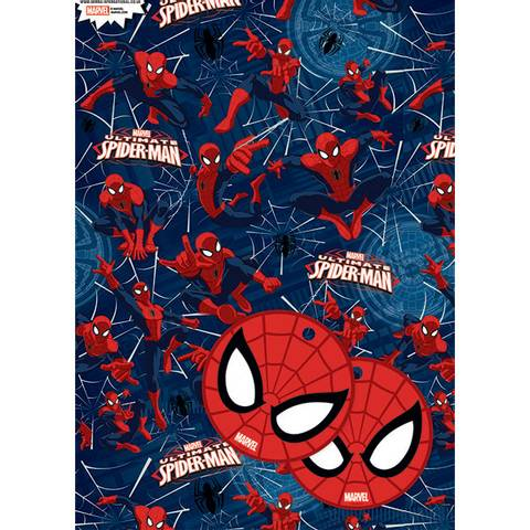 Bilde av Spiderman Gavepapir & Kort