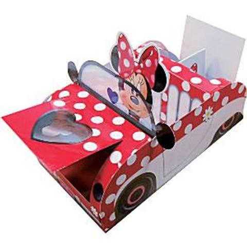 Bilde av Minnie Mus Party Selskaps Bil 21cm lang