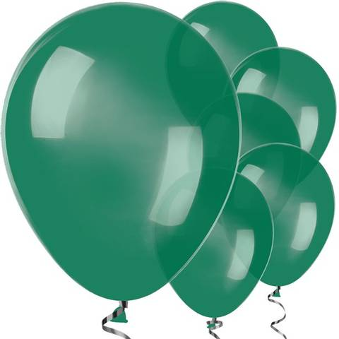 Bilde av Ballonger Skoggrønne 30cm 25stk