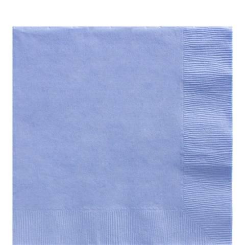 Bilde av Servietter Baby Blå 33cm 3-lags 20stk
