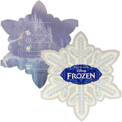 Bilde av Frost Invitasjonskort 6stk