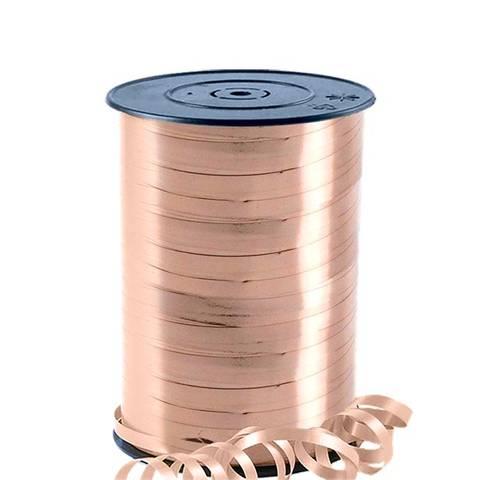 Bilde av Ballong Bånd Rose Gull Metallisk 230m