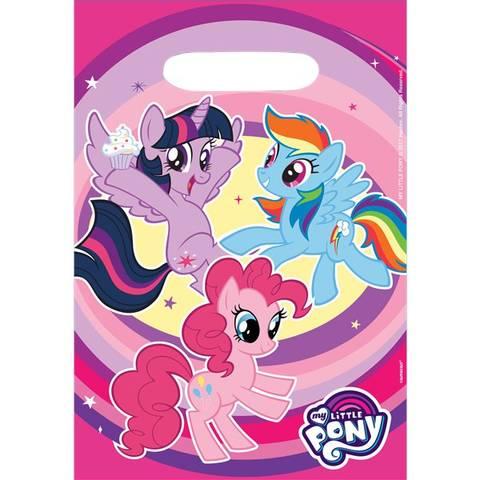 Bilde av My Little Pony Godteposer 8stk
