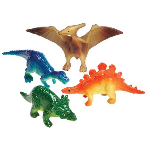 Bilde av Dinosaur Plastfigurer 4 stk