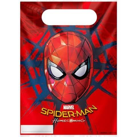 Bilde av Spiderman Homecomming  Godteposer 8stk