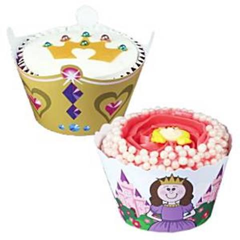 Bilde av Cupkakes Holdere Prinsesse 12stk
