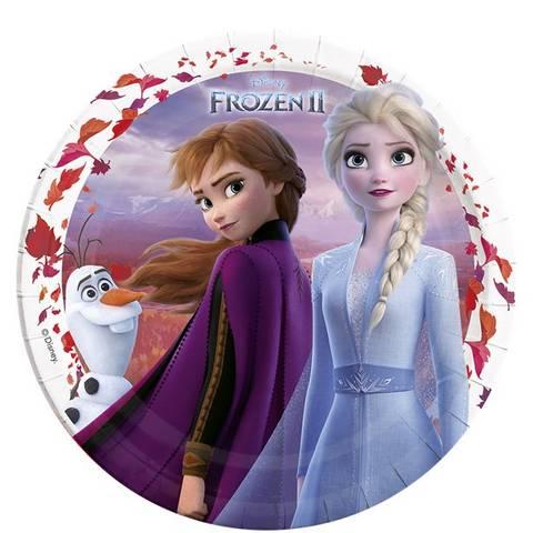 Bilde av Disney Frost II Papptallerkner 23cm 8stk