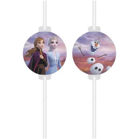 Bilde av Disney Frost II Papirsugerør4stk