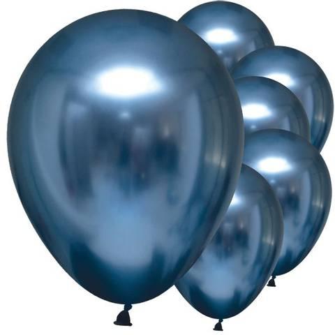 Bilde av Ballonger Azure Satin Luxus 28cm 6stk
