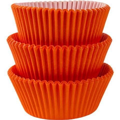Bilde av Muffinsformer Orange 75stk