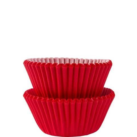 Bilde av Muffinsformer Røde Mini 3cm 100stk