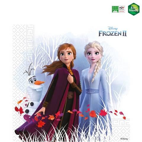 Bilde av Disney Frost II Miljøvennlig Lunsj Servietter 33cm