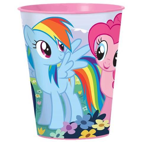 Bilde av My Little Pony Plastkopp 455ml 1stk