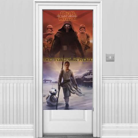 Bilde av Star Wars The Force Awakens Dør Banner 1.5m