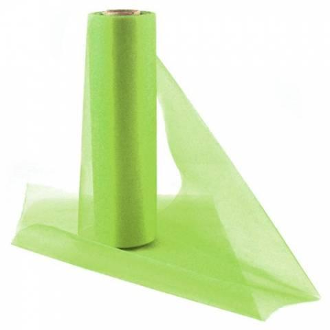 Bilde av Organza Løper Lime Grønn 25m