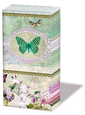 Bilde av Papirlommetørkle Sommerfugl 10 x 4stk