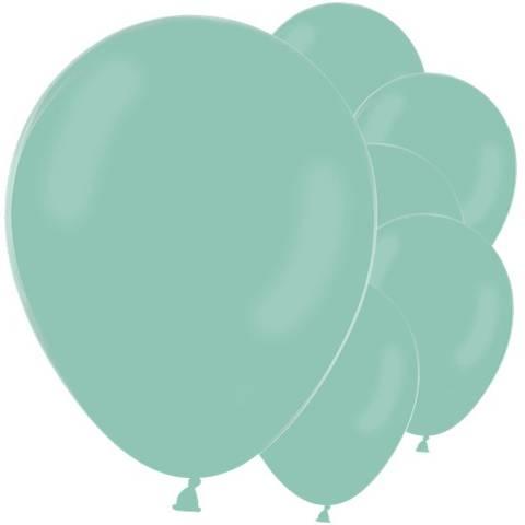 Bilde av Ballonger Pastell Mint Grønne Latex 30cm 10stk