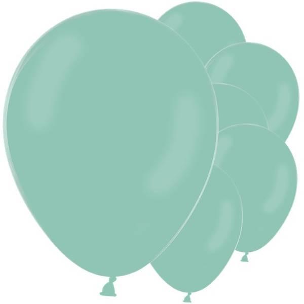 Ballonger Pastell Mint Grønne Latex 30cm 10stk