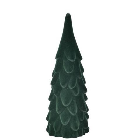 Bilde av Juletre Fløyel Medium Grønn