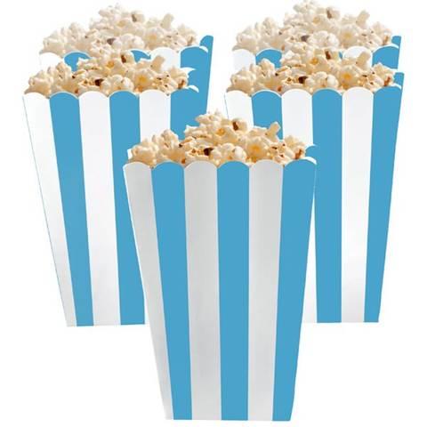 Bilde av Popcornbeger Caribbean Blue 13cm 5stk