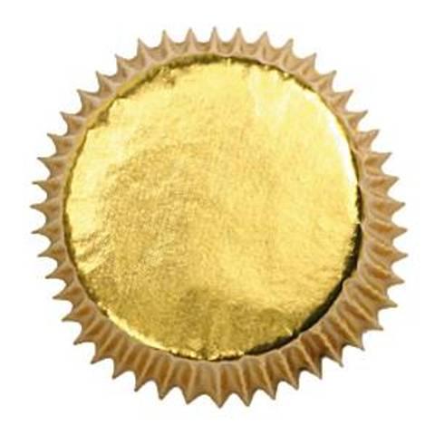 Bilde av Muffinsformer  Gullfolierte  45stk