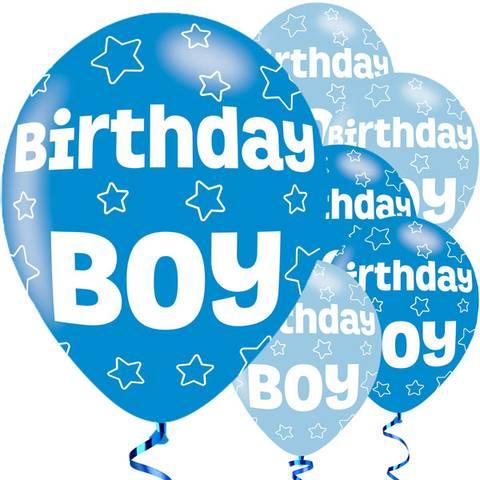 Bilde av Birthday Boy Ballonger 27cm 6stk